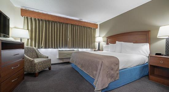 AmericInn Lodge & Suites Hutchinson: Guestroom