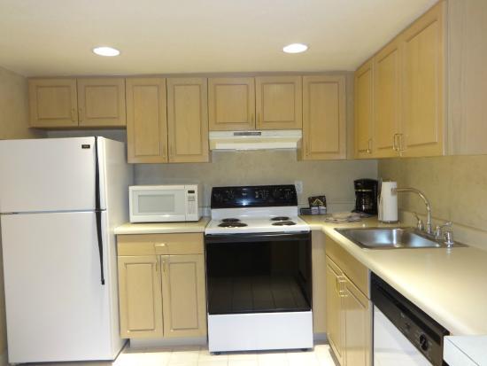 The Carriage House: Cozinha no quarto