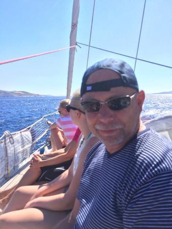 Наксос, Греция: For en dag