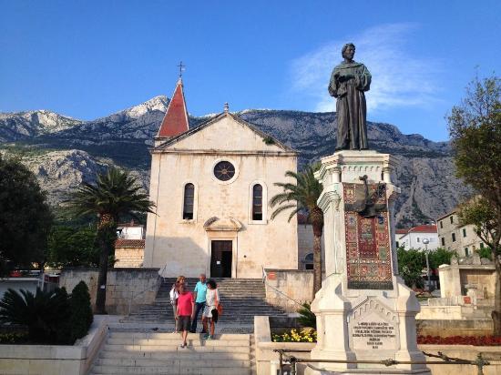 St. Mark's Church -- Makarska : Nice church at late afternoon