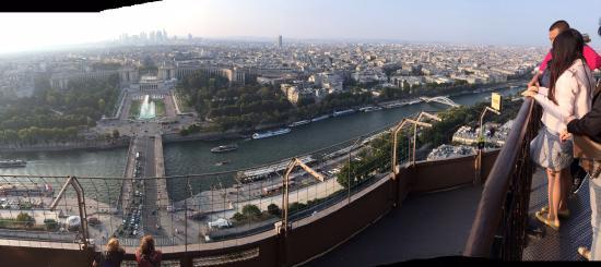 Paryż, Francja: Вид на Париж с Эйфелевой башни