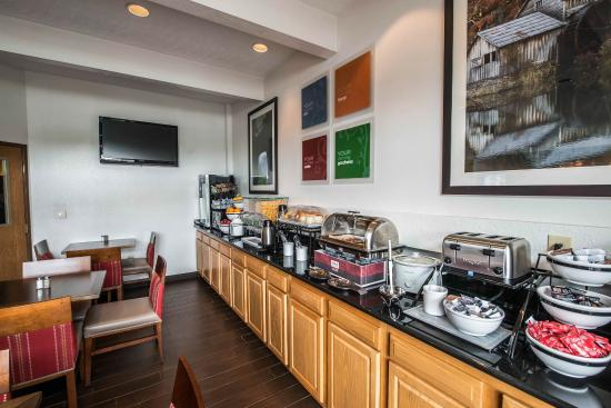 Comfort Inn Atkins: VABkfast