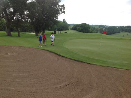 Cannon Falls, MN: The course