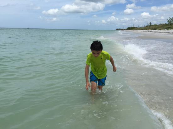Little Gasparilla Island, Floryda: Amazing beach
