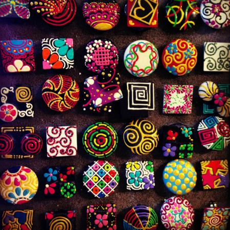West End, Honduras: Hand painted Rings