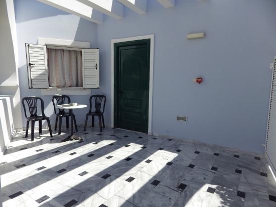 Ilaria Hotel: Taras
