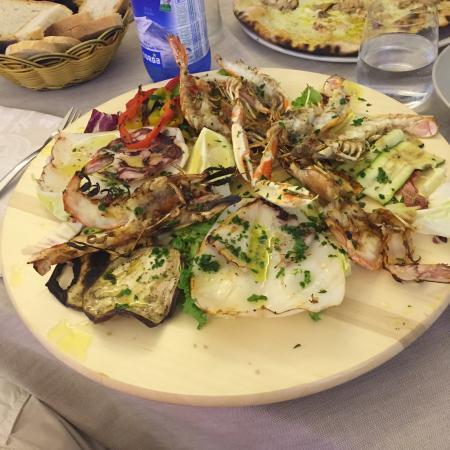 Grigliata Mista Di Pesce Picture Of Ristorante Il Molo Livorno
