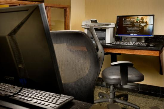 Drury Inn Kansas City Shawnee Mission: 24-Hour Business Center