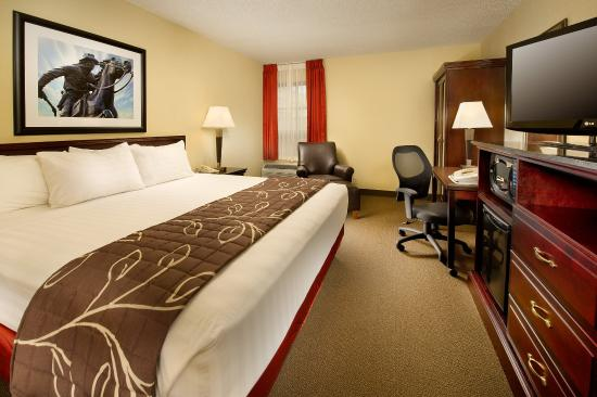Drury Inn & Suites St. Joseph : King Deluxe Room
