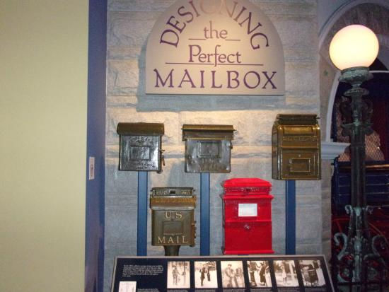 District of Columbia: Designing the perfect Mailbox in Postal Museum