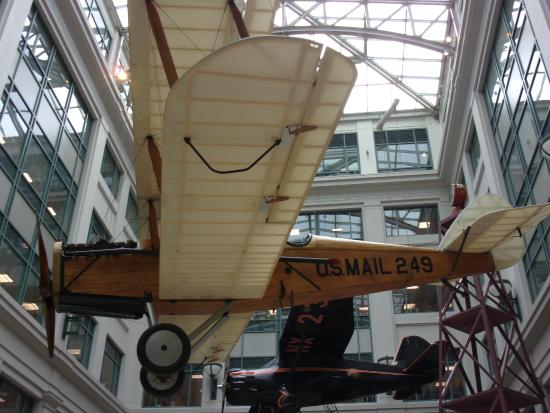 Columbia: In the Postal Museum air delivery