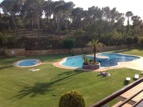 Aparthotel Golf Beach: Les jardins et la piscine