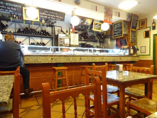 los Zarcillos : Décoration intérieure - le bar
