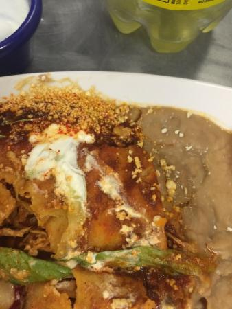 La Pena Mexicana: Enchiladas spicy watch out!!