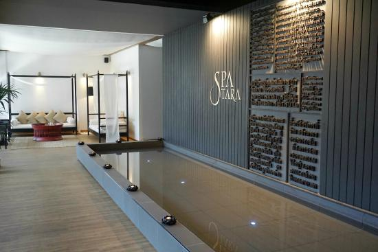 Spa tara reception area