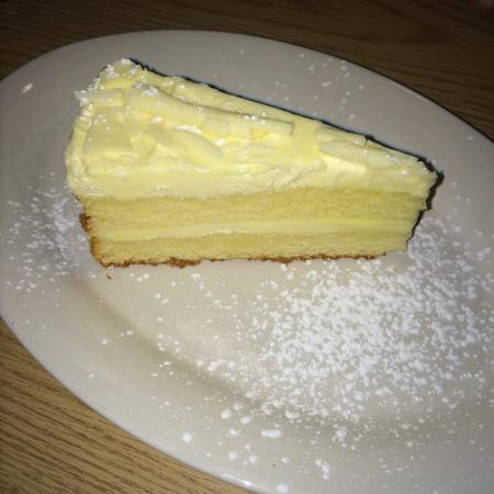 Limoncello Mascarpone Cake To Die For Just Enough Lemon To Make It Perfect Picture Of Cristo S Raleigh Tripadvisor
