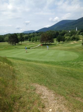 The Golf Club at Equinox : Beautiful course