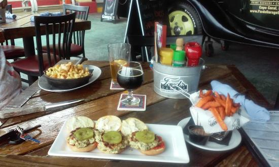 Chicken sliders and awesome sweet potato fries picture of ford 39 s garage cape coral tripadvisor - Ford garage restaurant cape coral ...
