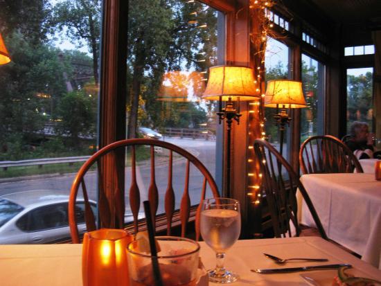 Nicollet Island Inn : Restaurant at night