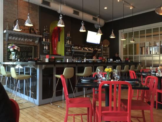Sabio at Dudley Square: The bar