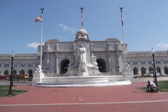 Union Station: Frente de la estación