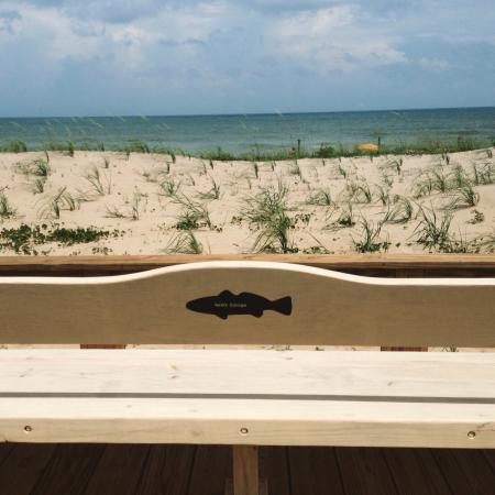 Carolina Beach Boardwalk: New boardwalk