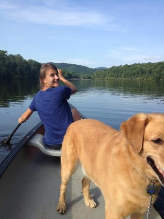Blowing Rock, NC: Canoeing on Price Lake