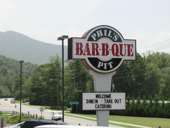 Phil's BBQ Pit: You have arrived, enter here