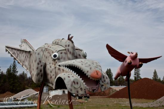 Large Junk Art Sculptures
