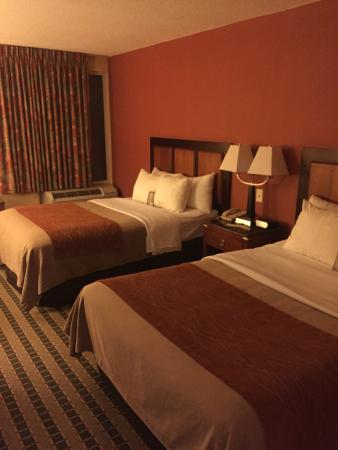 Comfort Inn Troutville: Room