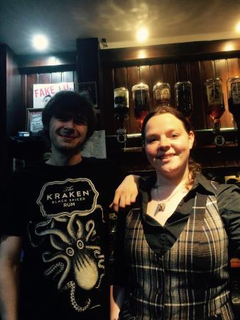Burnett Arms Hotel: Amazing staff