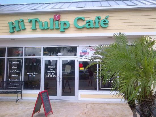 Hi Tulip Cafe Flagler Beach Fl