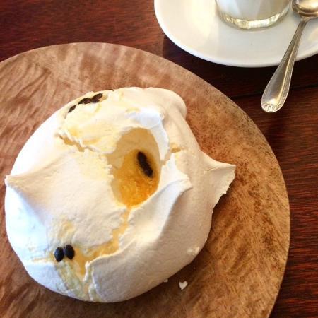 Say Grace Cafe & Larder: Passionfruit meringue