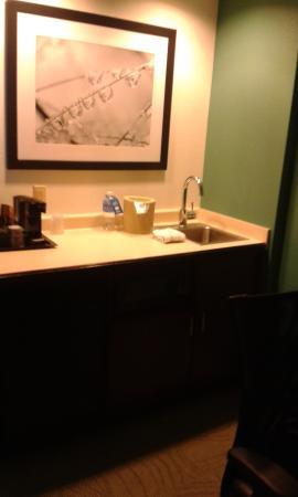 SpringHill Suites Washington: cucinino