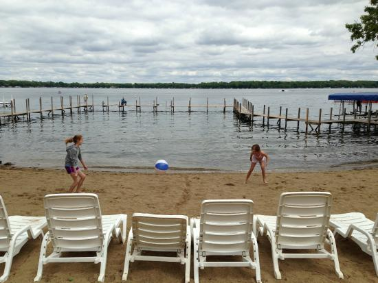 Village West Resort - West Lake Okoboji: Beach Shot