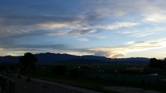 Colorado City, CO: From the pool
