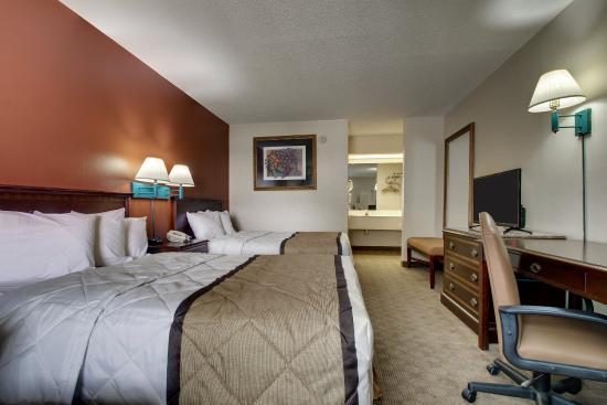 Key West Inn Lafayette : Lafeyette Double Room