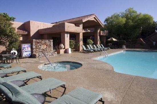 Sedona Summit Resort: Pool view