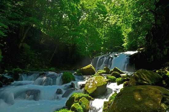 Chino, Giappone: 蓼科大滝