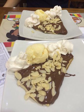 Crepelocks: Crepe de Nutella!