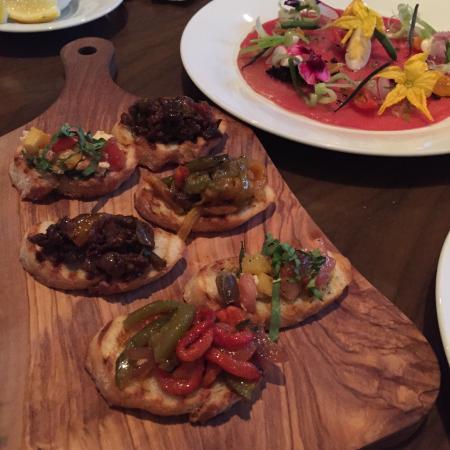 OP Italian: Delicious, fresh Italian dishes with modern presentation