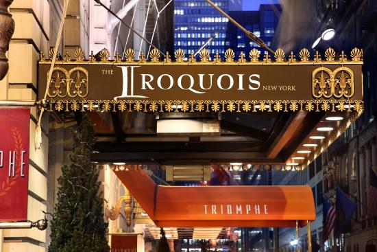 The Iroquois New York: Exterior View