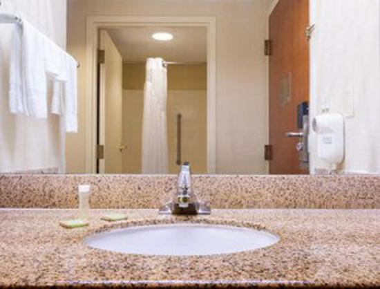 Super 8 Spartanburg/I-26 Exit 22: Bathroom