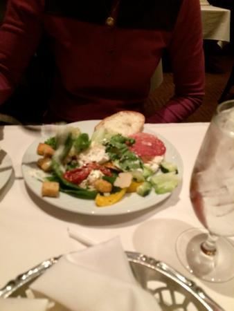 Fogo de Chao Brazilian Steakhouse: My wife's $50 salad