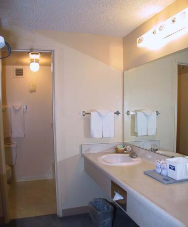 Rodeway Inn : Guest Room Bathroom