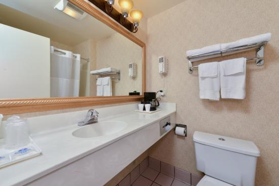 Americas Best Value Inn- San Jose Convention Center: Bathroom