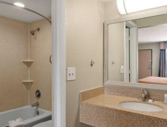 Travelodge Inn and Suites Jacksonville Airport: Bathroom