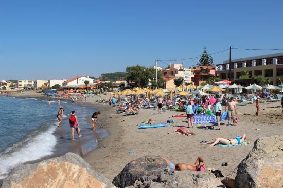 Beach picture of porto platanias beach resort spa platanias porto platanias beach resort spa beach sciox Choice Image