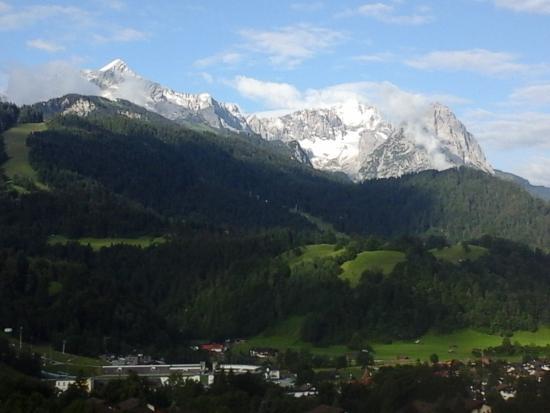 Zur Schonen Aussicht Hotel Garni : vue depuis le balcon !