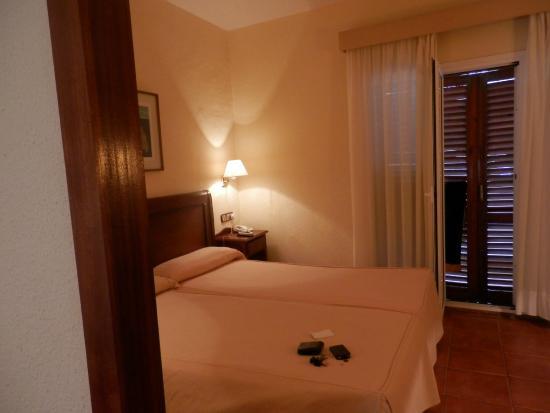 Hotel Montepiedra: bedroom